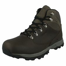 LADIES HI TEC LEATHER LACE UP WATERPROOF HIKING WALKING BOOTS SHOES OAKHURST WP
