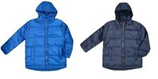 NEW Boys Freaky Padded Puffa Jacket School Winter Coat Blue Age 3 4 5 6 7 8 9 10