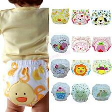 Baby Boy Girl Training Pee Potty Cloth Diaper Pants Nappy Infant Underwear Cute