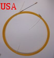 Fish Tape Fiberglass Wire Cable Pulling Rod Duct Rodder Puller 30Meters 100ft