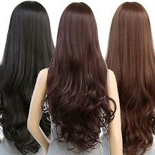 Women Long Curly Wavy Full Wig Heat Resistant Hair Cosplay Party Grace Lolita