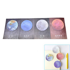 1Pc Planet Memo Pad Notebook Sticky Note Portable School Stationary New