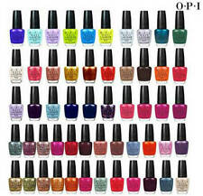 OPI Nail Polish/Lacquer in Color of Your Choice .5 ml - 4 pack (U-Y)