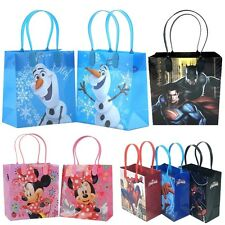 12x Disney DC Marvel Birthday Goody Gift Loot Favor Bags Party Supplies Gift Bag