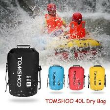 New 40L Black Waterproof Pouch Dry Bag for Kayaking Canoeing Rafting Floati A4I0