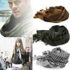 1 x Arab Shemagh Military Tactical Keffiyeh Palestine Scarf Shawl Head Neck Wrap