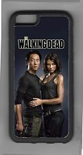Glenn and Maggie Walking Dead design cell case iPhone iPod Samsung