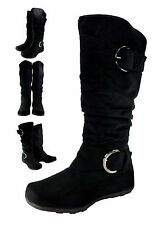 MAX Women's OSLO Mid-Calf Slouch Boot.