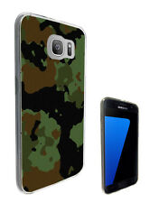 2242 Army Scene Soldier Case Cover For Samsung Galaxy J3 J5 A3 A5 S6 S7 Edge