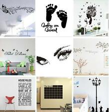 DIY Removable Tree Bird Art Vinyl Quote Wall Sticker Decal Mural Home Room Decor