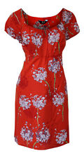 EX CHAINSTORE - RED/WHITE/MULTI FLORAL TUNIC DRESS - PLUS SIZE 16 - 26/28