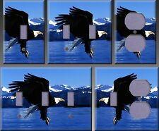 Bald Eagle In Alaska Wall Decor Light Switch Plate Cover