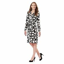 The Collection Womens Black And White Floral Print Shirt Dress From Debenhams