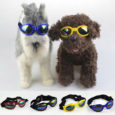 Cool Pet Dog Anti-wind Glasses Eye Wear Protection Fashion Goggles UV Sunglasses