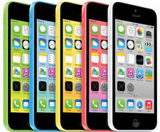 Apple  iPhone-5c-8GB/16GB/32GB Factory Unlocked Smartphone Box Grade A+++