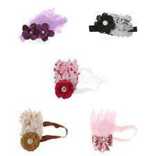 Feather Brand New Headband Baby Girl Infant Hairband Shower Bow Flower Headwear