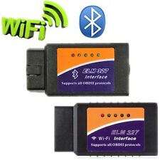 ELM327 USB Interface OBD2 Wifi Bluetooth Diagnostic Auto Car Scanner For DOS