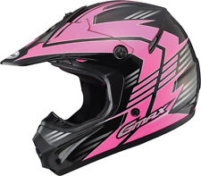 GMax GM46.2 Race Womens Motocross Dirt Bike Off Road Helmets