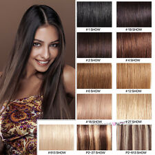200g 7A Keratin Pre Bonded Nail U Tip Glue 100% Remy Real Human Hair Extensions