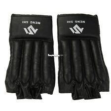 New Mitts Half-finger Fitness Boxing Gloves Punch Bag Training Equipment ES8P