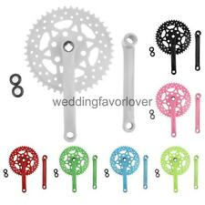 Cycling Bike Bicycle Single Speed High-Carbon Steel Fixie Crankset Crank 44T
