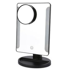 36 LED USB Power Folding Toilet Lighted Makeup Mirror with Magnifier ZUS
