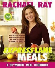 Rachael Ray Express Lane Meals:30 Minute Meal Cookbook  NEW Free Shipping
