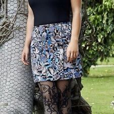 Coleen Rooney Multi Floral A-Line Mini Skirt Size's 20