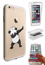 C1419 Panda DAB Dance Move Case Full 360° Cover For iphone 7 SE 5 6 6S /6 7plus