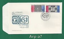 (FC1185) Czechoslovakia FDC - First Day Cover 1968 Anniversary radio and TV