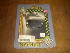 joker machine chrome smooth rear master cylinder cover 99-later tour,fl 08-01s