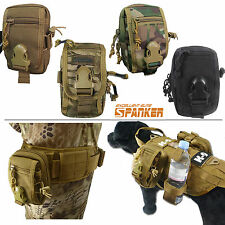 Tactical Small Utility EDC Molle Nylon Pouch Pocket (5 colors option)