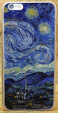 AJ42 Vincent Van Gogh Starry Night Case Cover Shell Coque For All Phone Models