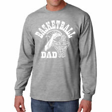 Long Sleeve S Basketball Dad T Shirt Gift Father New Ball Best Player Tee Funny