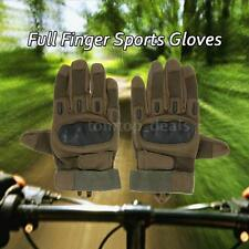 New Outdoor Hard Knuckle Full Finger Tactical Gloves Sport Cycling Hunting K0I8