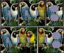 Lovebirds Wall Decor Light Switch Plate Cover