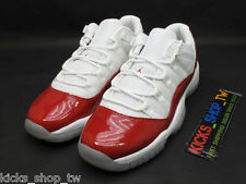 2016 NIKE AIR JORDAN 11 XI RETRO LOW BG GS GIRLS CHERRY VARSITY RED 528896-102