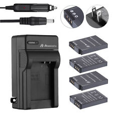 EN-EL12 Battery + Charger for Nikon Coolpix AW100 AW110 AW130 AW120 S6000 S8000