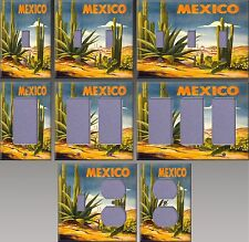 Mexico Poster Wall Decor Light Switch Plate Cover