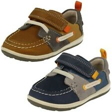 Infant Boys First Clarks Shoes - Softly Boat