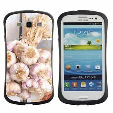Shockproof Anti-Drop Heavy Duty Case For Samsung Nature Garden Flower Plant