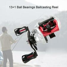 13+1BB 6.3:1 Gear RatioBearings Fishing Baitcast Reel Baitcasting Reel K4U8