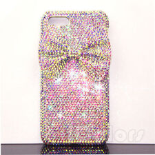 3D Bow AB Crystal Bling Case Cover For iPhone 6 6S 7 Plus W/H  SWAROVSKI ELEMENT