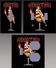 Red Hot Martini Wall Decor Light Switch Plate Cover