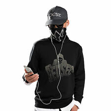 Watch Chien Dogs False Two Pieces Sweater Marcus Holloway Hoodie Dedsec Costume