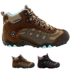 Womens Hi-Tec Penrith Mid Walking Waterproof Ankle Boots Hiking Trainers US 5-10