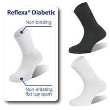 Reflexa Therapeutic Diabetic Thin Socks Mens Women Diabetes Circulation Sock