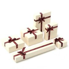 Newest Paper Gift Boxes Case For Bangle Jewelry Watch Box Necklace Ring Earring
