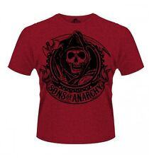 Sons of Anarchy : Reaper - T-Shirt Rouge - NEUF Officiel