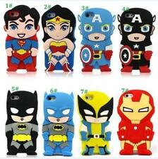 Comic Superhero Silicone Case Cover For iPhone 4 4s 5 5s SE 6 Ipod 4